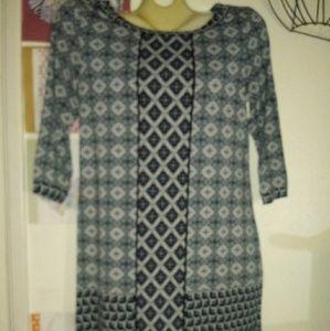 Max Studio Boho Dress Size L Like New!
